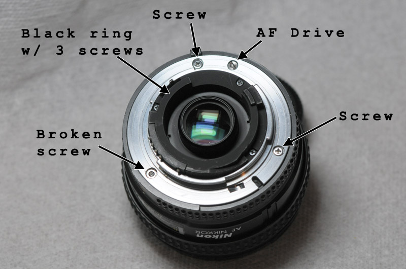 nikon af 20mm 2 8d lens repair rh shimonmor com Nikon 18 55 Lens Diagram Nikon 18 55 Lens Diagram